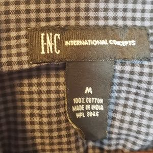 INC International Concepts Tops - INC International Concepts Button Up Long Sleeve